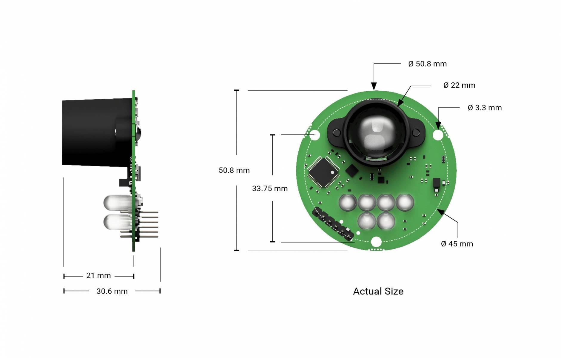 LeddarOne Single Element LiDAR Sensor Module | LeddarTech