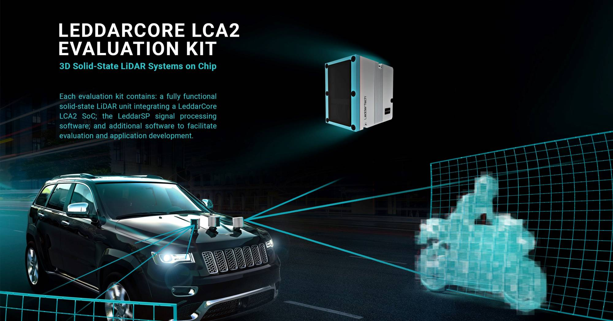 LeddarTech delivers first LCA2 LiDAR chips to automotive